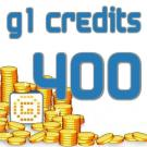 G1 Credits 400