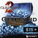 Guild Wars 2 $15 Gem Card